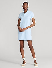 Polo Ralph Lauren - Cotton Polo Dress - hverdagskjoler - elite blue/c1750 - 0