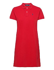 Cotton Polo Dress - RL 2000 RED/C7998