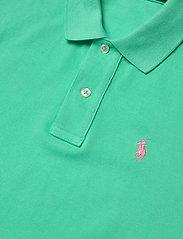 Polo Ralph Lauren - Cotton Polo Dress - hverdagskjoler - sunset green/c312 - 3