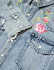 Polo Ralph Lauren - Embroidered Denim Shirt - jeansblouses - medium indigo - 4