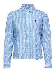 Striped Linen Shirt - 542B SCOTTSDALE B