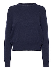 Wool-Blend Crewneck Sweater - BOATHOUSE NAVY HE
