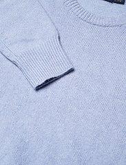 Polo Ralph Lauren - Wool-Blend Crewneck Sweater - jumpers - lt blue heather - 2