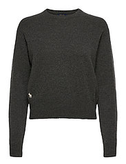 Wool-Blend Crewneck Sweater - STADIUM GREY HEAT