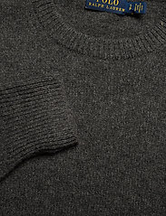 Polo Ralph Lauren - Wool-Blend Crewneck Sweater - jumpers - stadium grey heat - 2