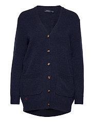 Wool-Blend Cardigan - BOATHOUSE NAVY HE