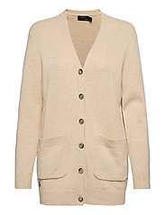 Wool-Blend Cardigan - TALLOW CREAM HEAT