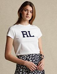 Polo Ralph Lauren - RL Cotton Jersey Tee - t-shirts - white - 0