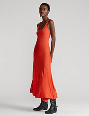 Polo Ralph Lauren - Jersey Sleeveless Dress - everyday dresses - african red - 0