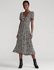 Polo Ralph Lauren - Floral Crepe Dress - everyday dresses - 749 poppy field f - 0