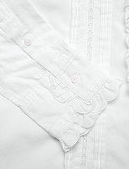Polo Ralph Lauren - VINTAGE POPLIN-LSL-SHT - long sleeved blouses - white - 4