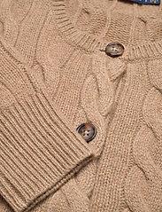 Polo Ralph Lauren - Buttoned Wool-Blend Cardigan - cardigans - luxury beige heat - 2