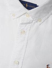 Polo Ralph Lauren - LT WT OXFORD-LSL-SHT - long-sleeved shirts - bsr white - 2