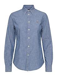 Cotton Chambray Shirt - BSR INDIGO