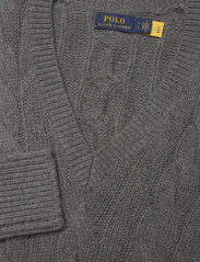 Polo Ralph Lauren - Cable-Knit Wool-Cashmere Sweater - jumpers - antique heather - 2