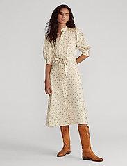 Polo Ralph Lauren - Floral Satin Dress - midi dresses - 793 gentle floral - 0