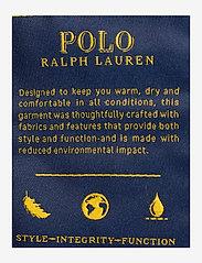Polo Ralph Lauren - Faux Fur-Trim Down Coat - winter coats - polo black - 4