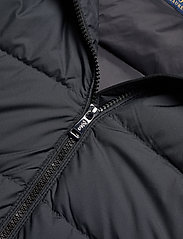 Polo Ralph Lauren - Faux Fur-Trim Down Coat - winter coats - polo black - 5