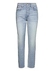 Callen High-Rise Slim Jean - LIGHT INDIGO