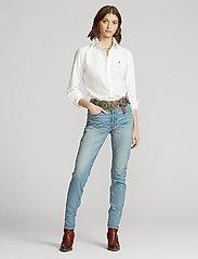Polo Ralph Lauren - Callen High-Rise Slim Jean - slim jeans - light indigo - 0