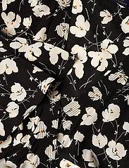 Polo Ralph Lauren - Floral Wrap Dress - everyday dresses - 766 black/white i - 3