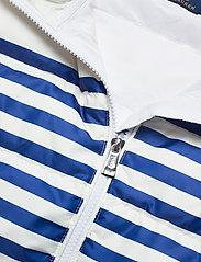 Polo Ralph Lauren - Belmont Striped Down-Filled Vest - puffer vests - white/blue stripe - 3