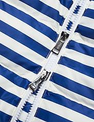 Polo Ralph Lauren - Belmont Striped Down-Filled Vest - puffer vests - white/blue stripe - 4