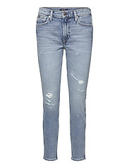 Tompkins Skinny Crop Jean - MEDIUM INDIGO