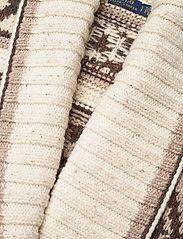 Polo Ralph Lauren - Fringe-Trim Shawl Cardigan - cardigans - oatmeal multi - 3