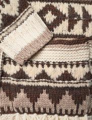 Polo Ralph Lauren - Fringe-Trim Shawl Cardigan - cardigans - oatmeal multi - 4