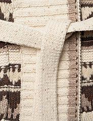 Polo Ralph Lauren - Fringe-Trim Shawl Cardigan - cardigans - oatmeal multi - 5