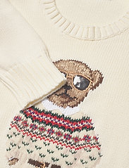 Polo Ralph Lauren - Polo Bear Crewneck Sweater - trøjer - cream multi - 3