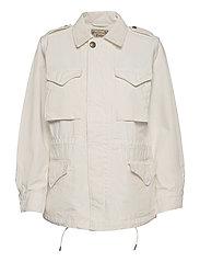 Surplus Cotton Twill Jacket - CLUBHOUSE CREAM