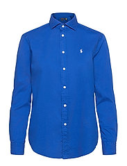 Relaxed Fit Cotton Twill Shirt - SAPPHIRE STAR