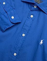 Polo Ralph Lauren - Relaxed Fit Cotton Twill Shirt - langærmede skjorter - sapphire star - 3