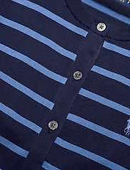 Polo Ralph Lauren - PIMA JSY STRETCH-LSL-SWT - cardigans - blue multi - 3