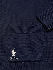 Polo Ralph Lauren - COTTON JERSEY-LSL-SWT - cardigans - hunter navy - 4