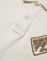 Polo Ralph Lauren - Beaded-Logo Polo Shirt - polohemden - deckwash white - 3