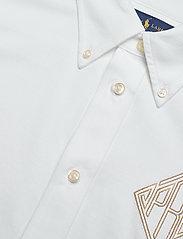 Polo Ralph Lauren - Monogram Oxford Shirt - bluser & skjorter - white - 3