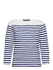 Beaded Boatneck Shirt - DECKWASH WHITE/HE