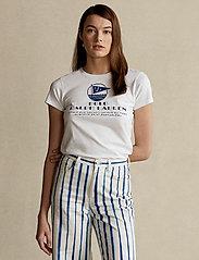 Polo Ralph Lauren - Graphic Logo Cotton Tee - t-shirts - white - 0