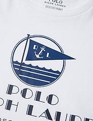 Polo Ralph Lauren - Graphic Logo Cotton Tee - t-shirts - white - 3