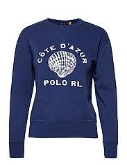 Côte d'Azur Fleece Sweatshirt - VINEYARD ROYAL