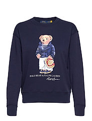 Polo Bear Fleece Sweatshirt - CRUISE NAVY