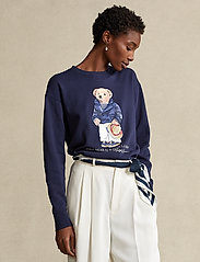 Polo Ralph Lauren - Polo Bear Fleece Sweatshirt - sweatshirts - cruise navy - 0