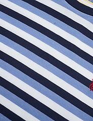 Polo Ralph Lauren - Striped Cotton Tee - t-shirts - blue/navy/white - 3