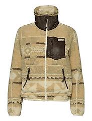Southwestern Fleece Zip Jacket - BCN PRINT