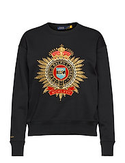 Lunar New Year Crest Sweatshirt - POLO BLACK