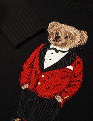 Polo Ralph Lauren - Lunar New Year Polo Bear Sweater - trøjer - polo black - 2