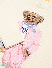 Polo Ralph Lauren - Picnic Polo Bear Sweater - trøjer - cream - 2
